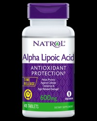 Alpha Lipoic Acid 600 mg от Natrol