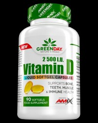 Greenday Vitamin D3 2500 I.U. от AMIX