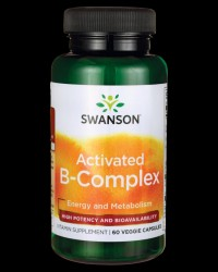 Activated B-Complex High Potency and Bioavailability от Swanson