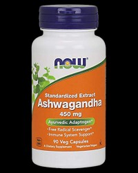 Ashwagandha Extract 450 mg от NOW Foods