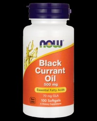 Black Currant Oil 500 mg от NOW Foods
