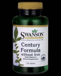 Century Formula Multivitamin without Iron от Swanson