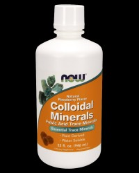Colloidal Minerals Original от NOW Foods