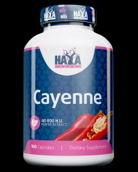 Cayenne Pepper Extract 40000 H.U. от Haya Labs