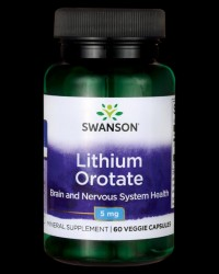 Lithium Orotate 5 mg от Swanson