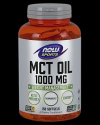 MCT Oil 1000 mg от NOW Foods