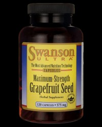 Ultra Maximum-Strenght Grapefruit Seed 575 mg от Swanson