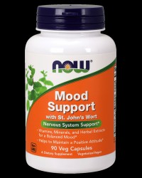 Mood Support with St. John's Wort от NOW Foods