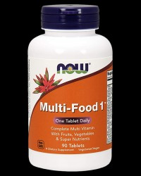 Multi-Food Multivitamin от NOW Foods