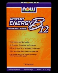 Vitamin B12 Instant Energy от NOW Foods