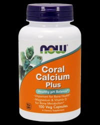 Coral Calcium 1000 mg от NOW Foods