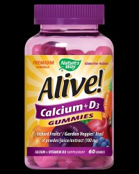 Alive! Calcium + Vitamin D3 250 mg от Nature's Way