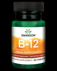 Ultra Vitamin B-12 High Absorption от Swanson