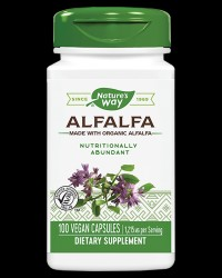 Alfalfa (leaves) 405 mg от Nature's Way