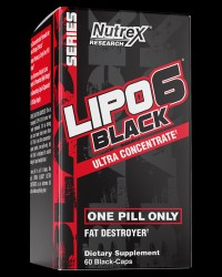 Lipo 6 BLACK Ultra Concentrate от Nutrex