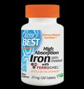 High Absorption Iron 100% Chelated pentru diete
