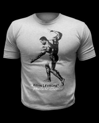 Kevine Levrone T-Shirt / Light Grey от Kevin Levrone