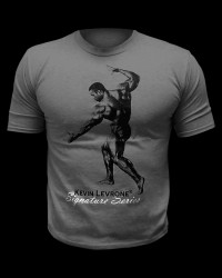 Kevine Levrone T-Shirt / Dark Grey от Kevin Levrone