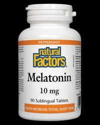 Melatonin 10 mg от Natural Factors