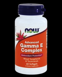 Advanced Gamma E Complex от NOW Foods