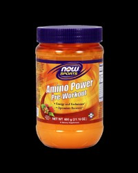 Amino Power Pre-Workout от NOW Foods