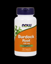 Burdock Root 430 mg от NOW Foods