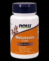 Melatonin 3 mg Chewable от NOW Foods