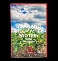 Goat and Sheep Whey Protein mixed Strawberry pentru diete