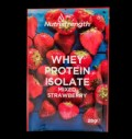 Whey Protein Isolate Mixed Strawberry pentru diete
