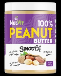 NutVit 100% Peanut Butter Smooth от OstroVit