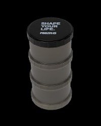 Powder Container Black Shape Your Life от Prozis