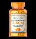 Chewable Vitamin C-500 mg with Rose Hips pentru diete