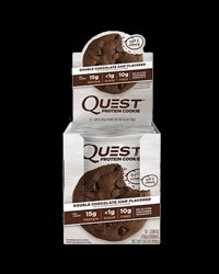 Quest Protein Cookie - Double Choco Chip от Quest Nutrition