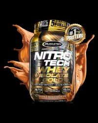 Nitro Tech / Whey + Isolate Gold от MuscleTech