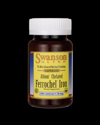Albion Chelated Ferrochel Iron 18 mg от Swanson