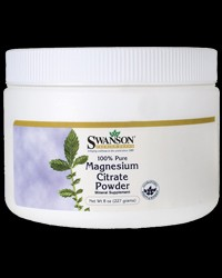100% Pure Magnesium Citrate Powder от Swanson