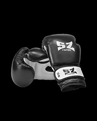 Leather Boxing Gloves Black от SZ Fighters