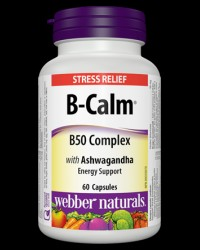 B-Calm® B50 Complex with Ashwagandha от Webber Naturals