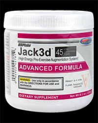 JACK3D - Advanced Formula от USP Labs