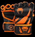 Challenger MMA Gloves - Neo Orange & Black pentru diete