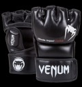 Impact MMA Gloves - Skintex Leather - Black pentru diete