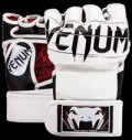 Undisputed 2.0 MMA Gloves - Nappa Leather - White pentru diete