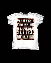 T-Shirt Wanted от SCITEC T-Shirts