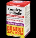 Complete Probiotic Double Strength / 10 Billion Active Cells pentru diete