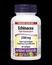 Echinacea Triple Standardized 2100 mg - 20:1 Extract от Webber Naturals